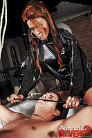 Avilla Scherzinger with her male slave