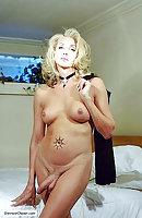 Beautiful naked transsexual women
