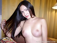 Asian Shemale With Tasty Boobs Posing