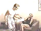 Vintage sex with amazing TS