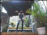 Fetish Ladyboy Penetrated Outdoor