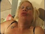 POV Barebacking Tranny Granny