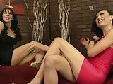 Venus Lux and Jordan Jay fuck and suck in hot 3some