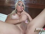 Afrika Kampos solo in White Panties
