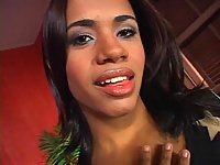 Latina tranny and handsome chap have fun