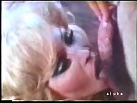 Vintage shemale gets anal stuffing