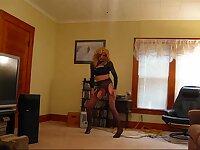 Aubrey dancing for you