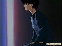 Hot threesome anime