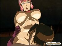 Anime shemales with huge cocks fuck each other