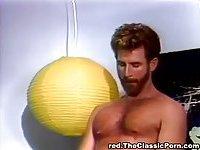 Vintage threesome porn scene