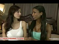 Only TS Interracial Party