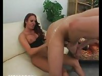 Redhead TS vamp wants some dick to eat