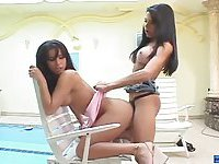 Latina kitty gets a shemales dick insertions