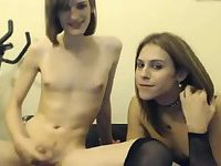 Webcam shemales twosome