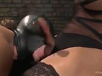 Mistress Jasmine continues to dominate her slave