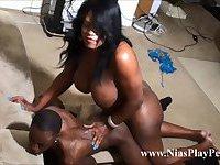 Ts Nia doing Lamar good and deep