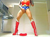 Wonder Woman Striptease