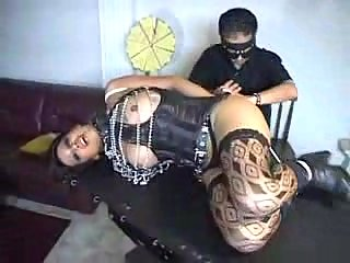Bondaged Trannies Session