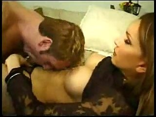 Guy blowing tranny cock