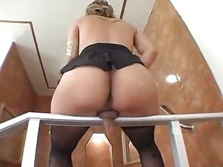 Passionate Latina TS Butt Stuffed