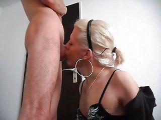 Amateur Porn Clip With Blonde TS