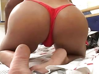 Stud banging shemale in her sexy ass