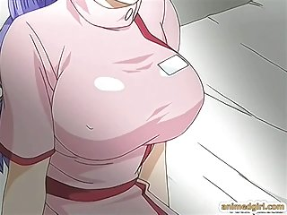 Busty hentai nurse hard fucked by shemale