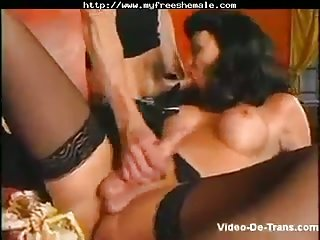 Perfect Tbabe sucked and fucked