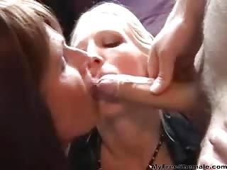 Brunette mature shemale threeway sex