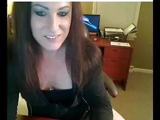 Shameless Tgirl shows her dick on webcam