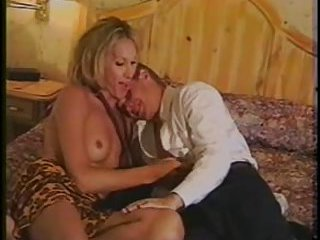 Anal and oral pleasure from a blonde Tgirl