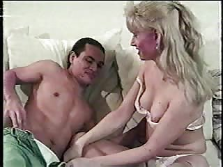 Hot Mature Blonde Stuffing Guys Butt Hard