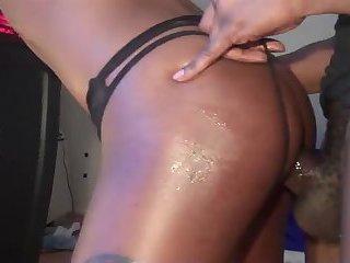 Black Tgirl Fuck With Boyfriend