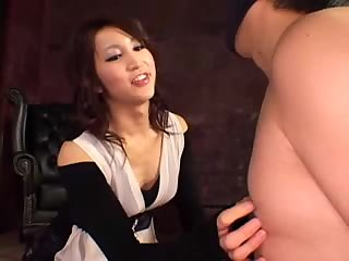 Domination act with a lustful ladyboy
