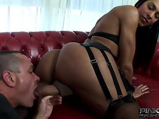 Titty Brunette Tranny Rammming Guy