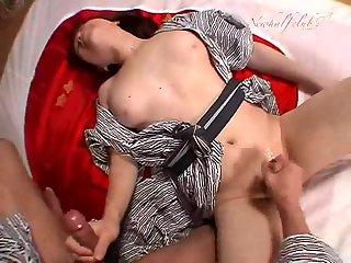 Ryouko Hirayama gets her ass fucking