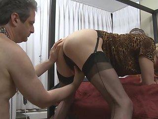 Mistress Z Slaves First Trannie
